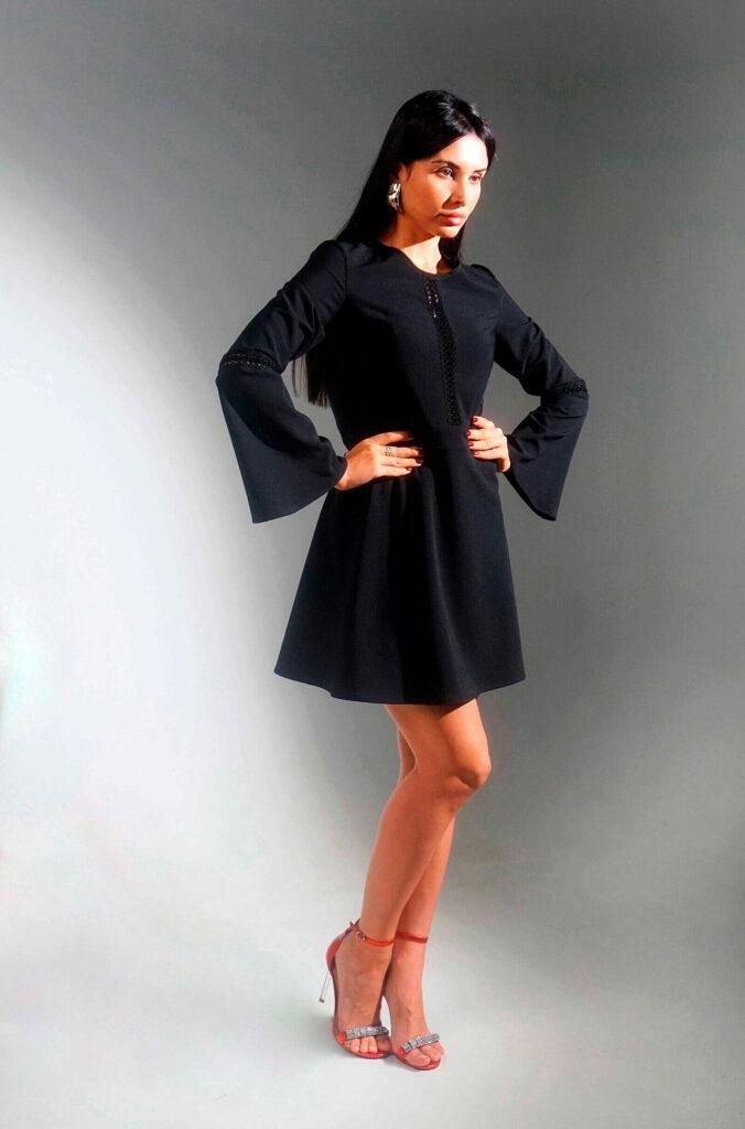 Красивые черные платья