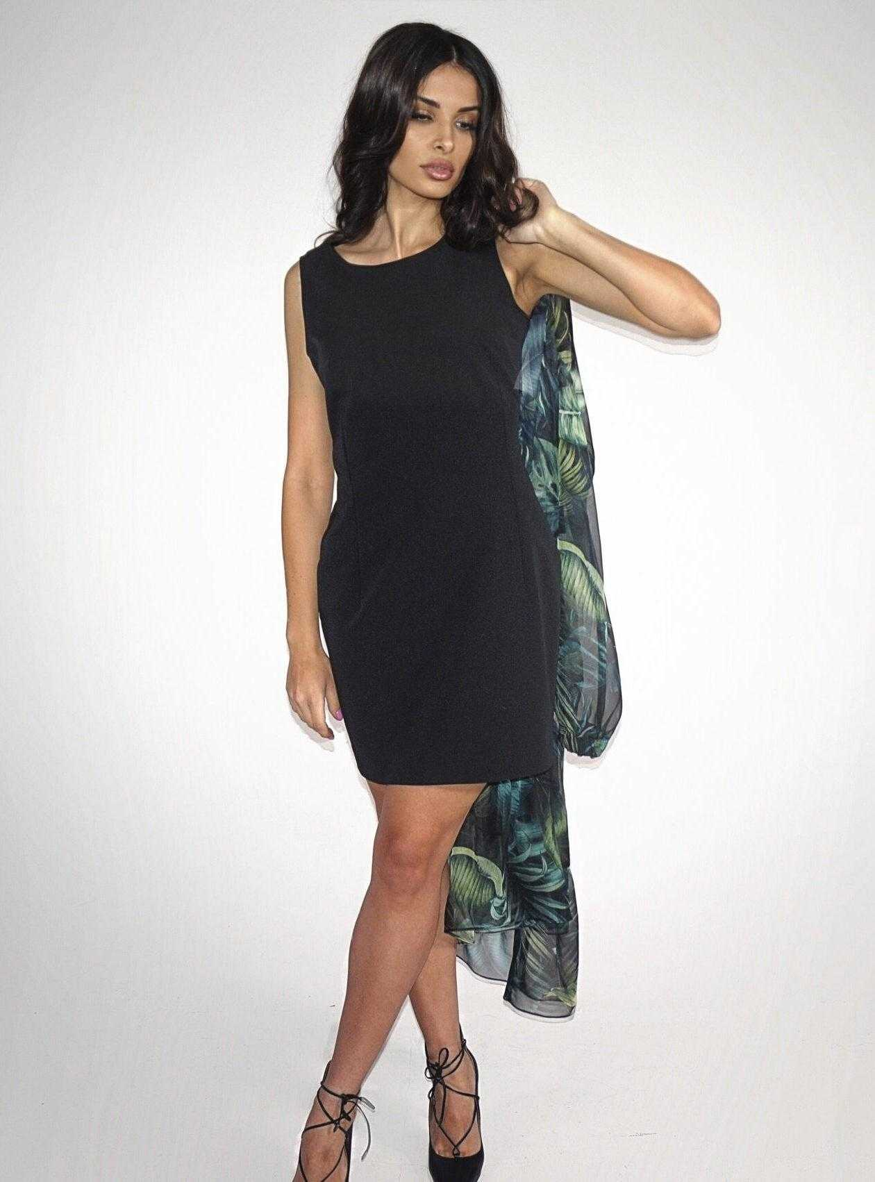 черное платье 2021