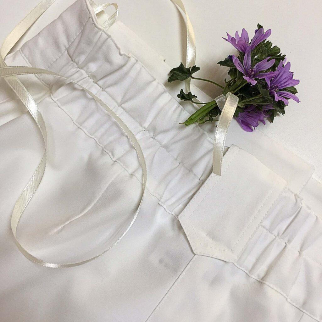 белые брюки 2020