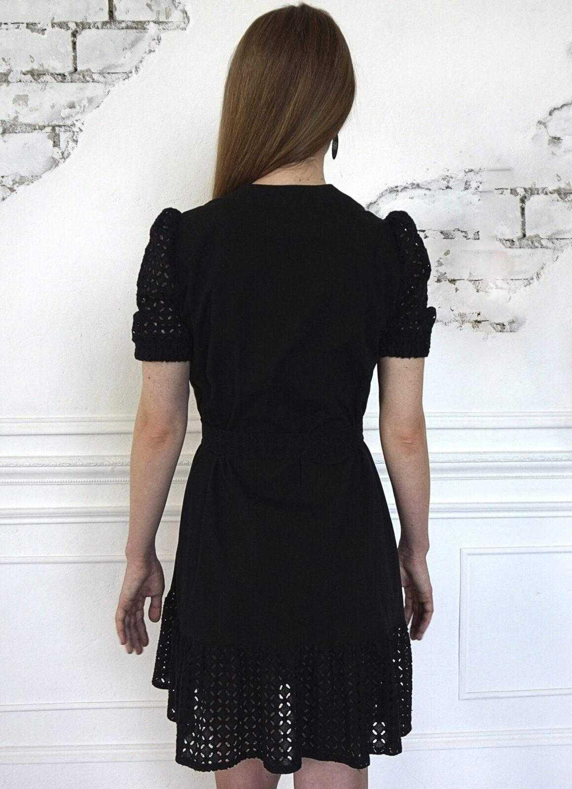 платье черное хлопок