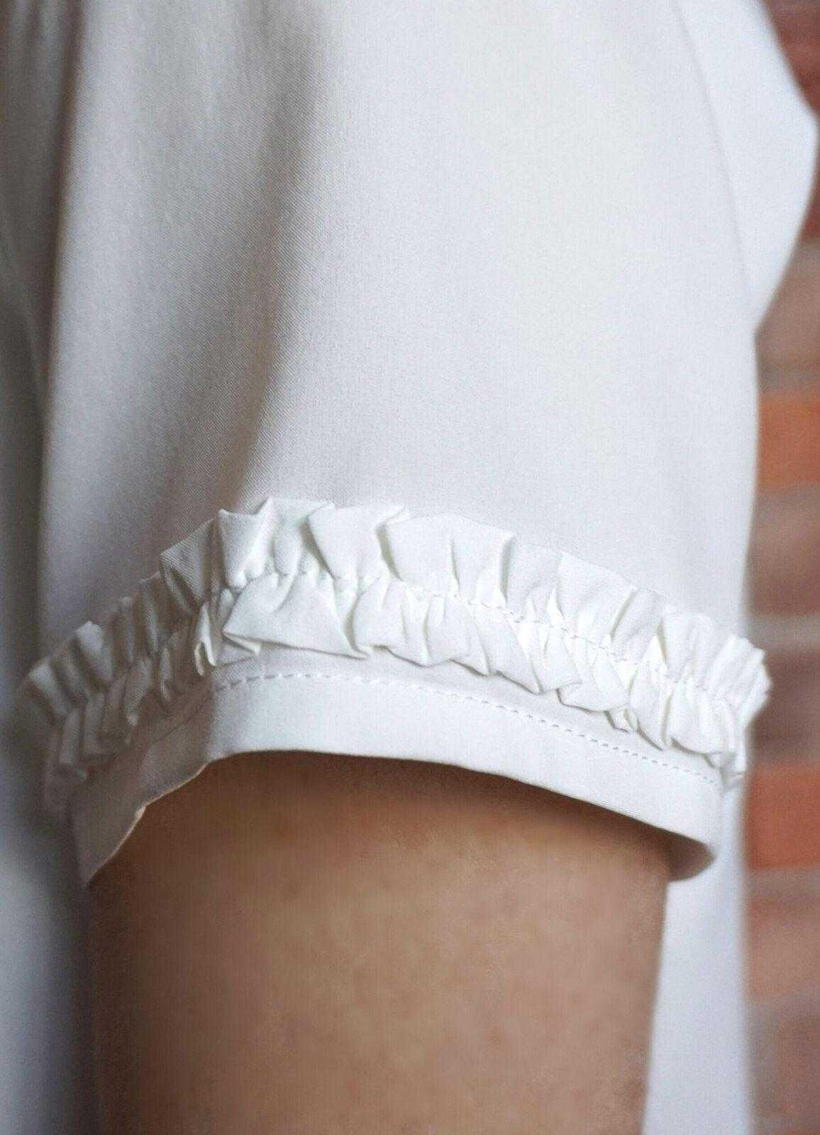 молочная блузка