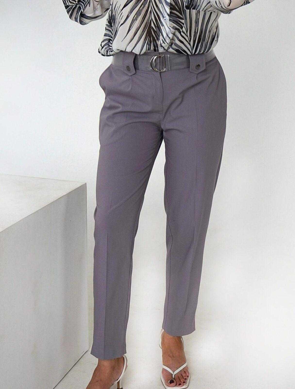 серые брюки женские