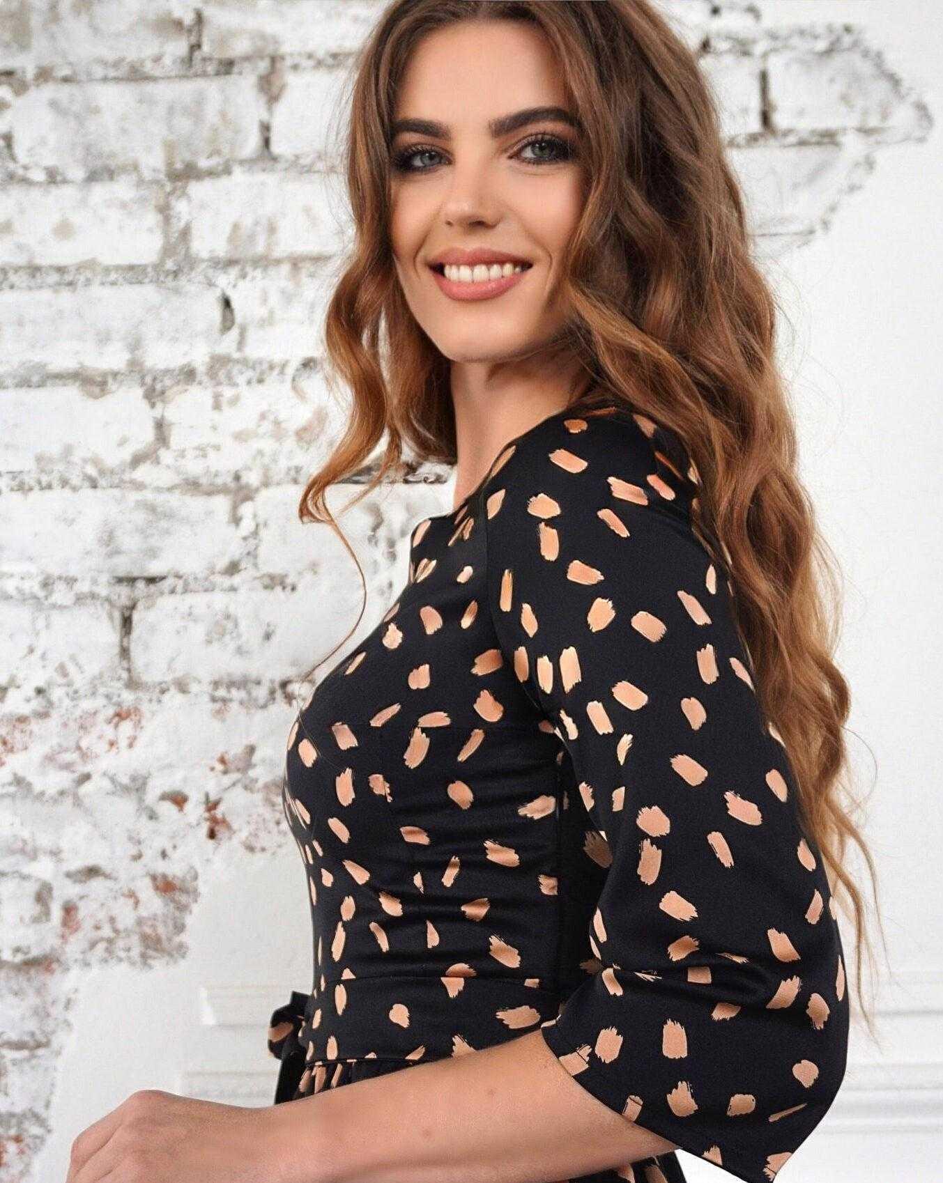 платье из шелкаv