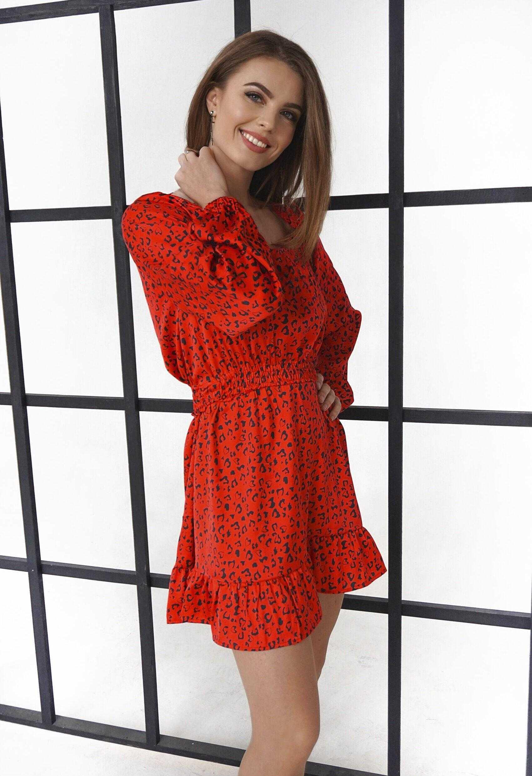 Маленькое красное платье (артикул ML 92)