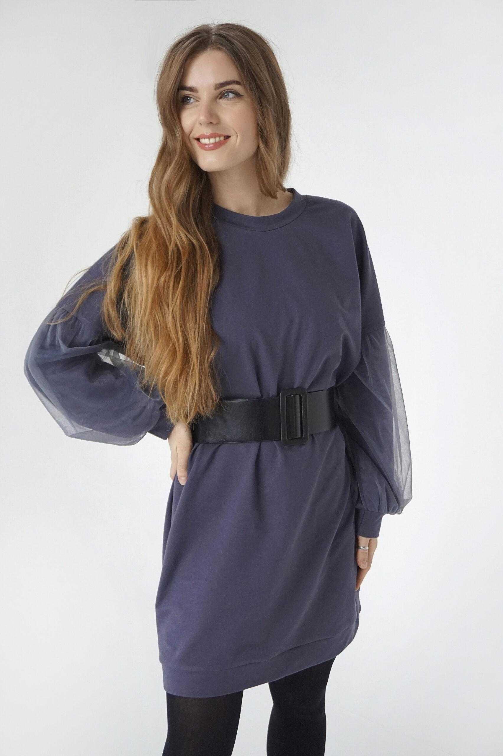 модели платьев из трикотажа