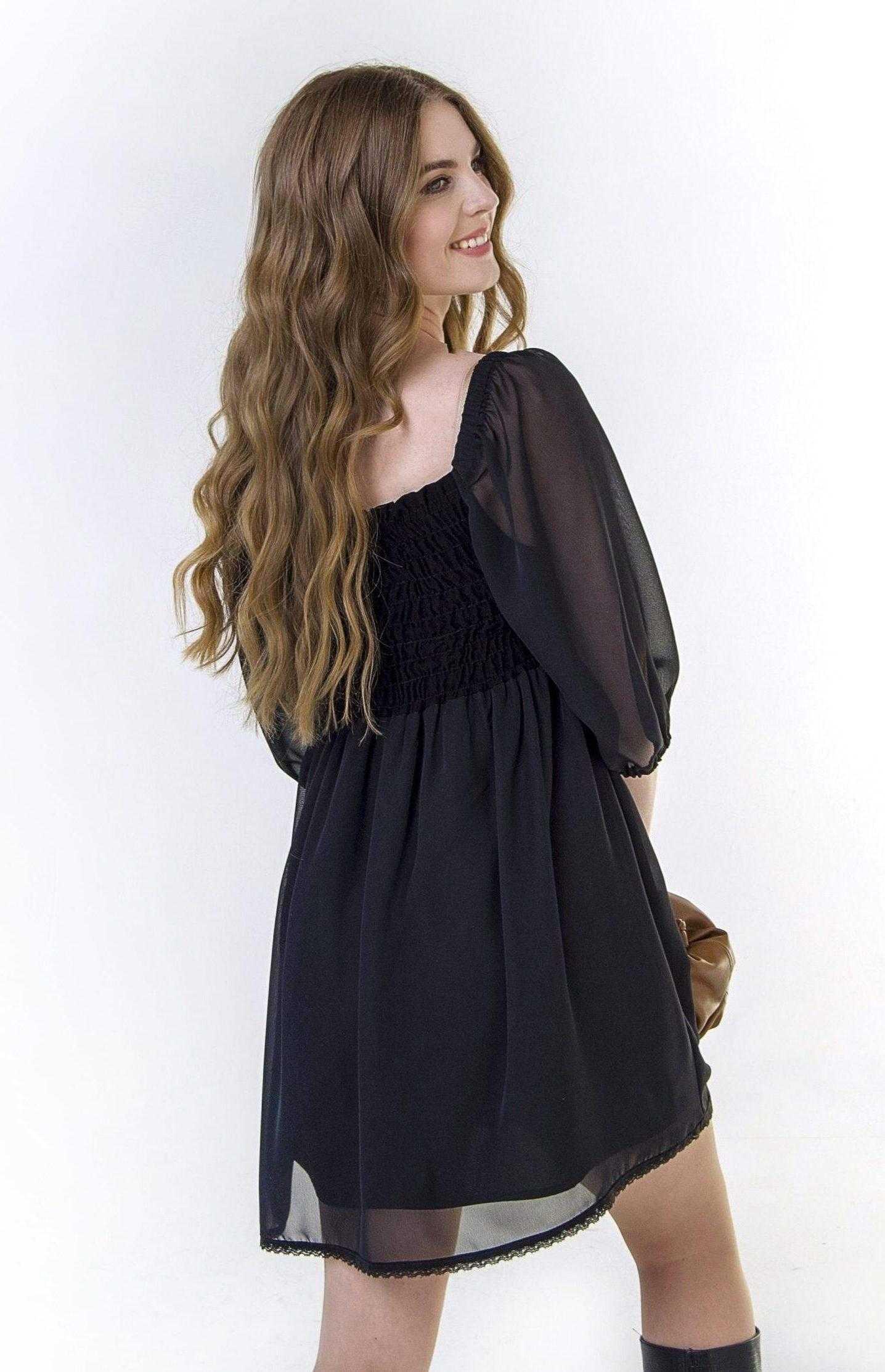 платье из шифона 2021