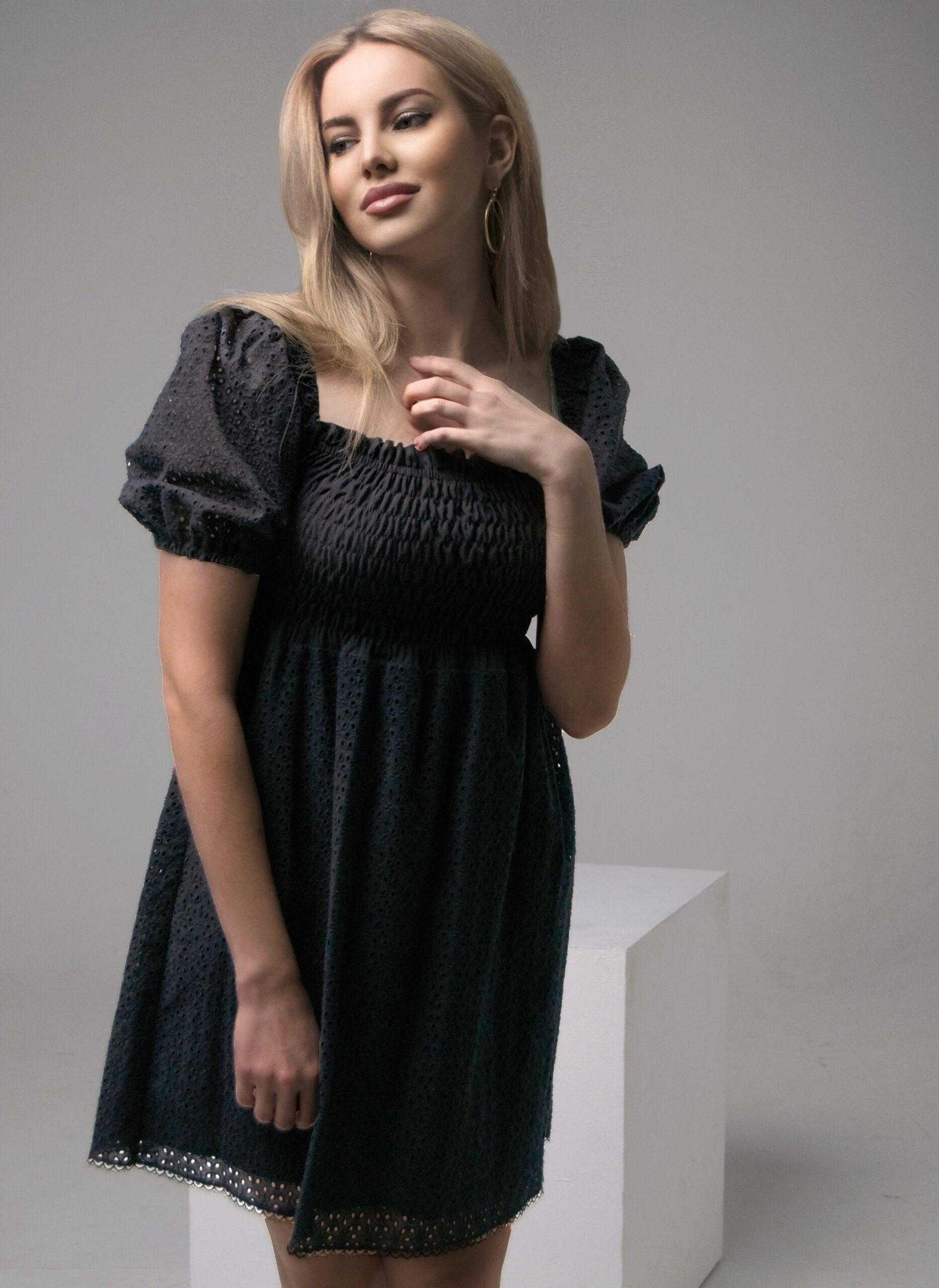 платье из хлопка для женщин