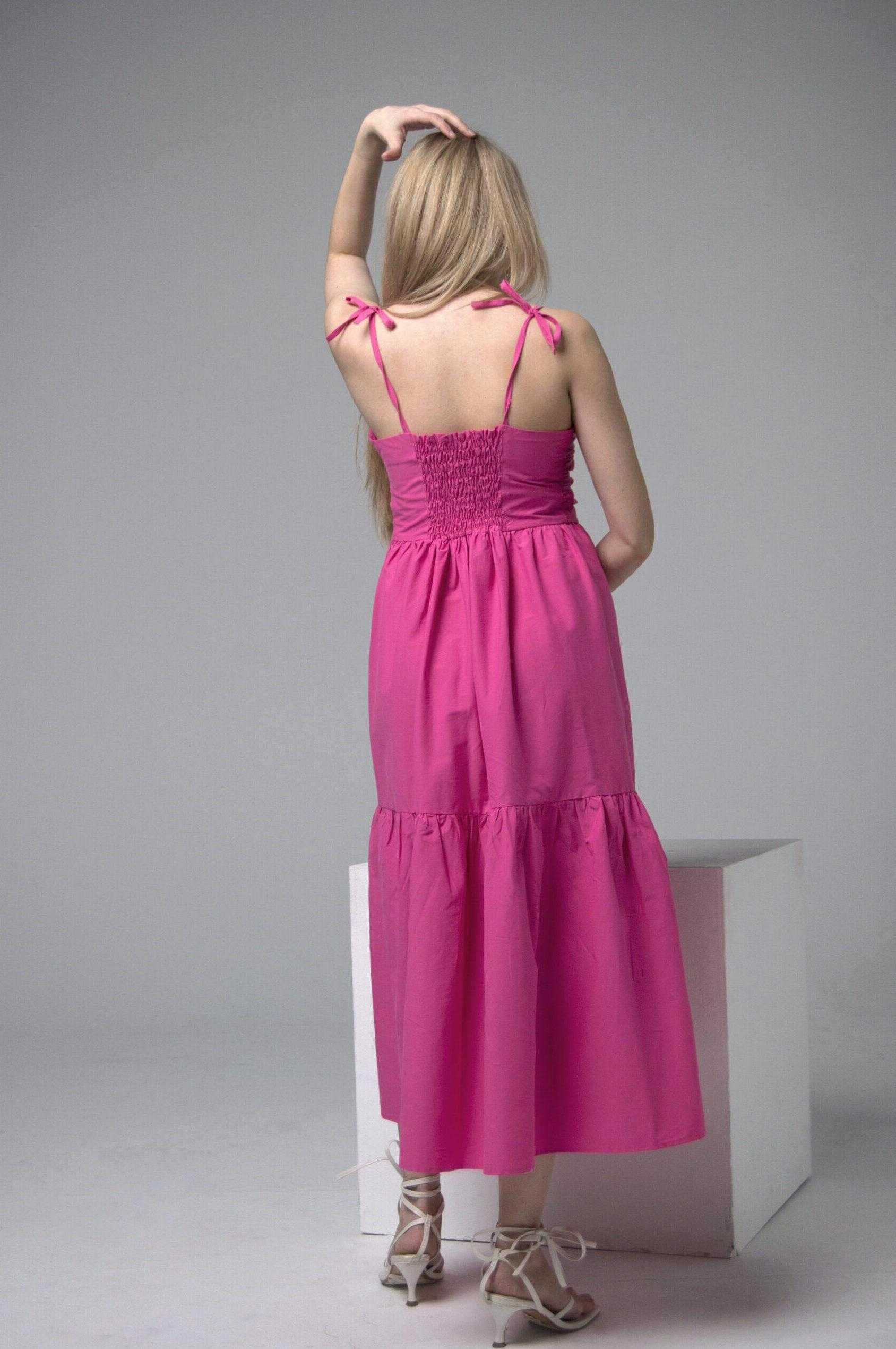 сарафан женский розовый