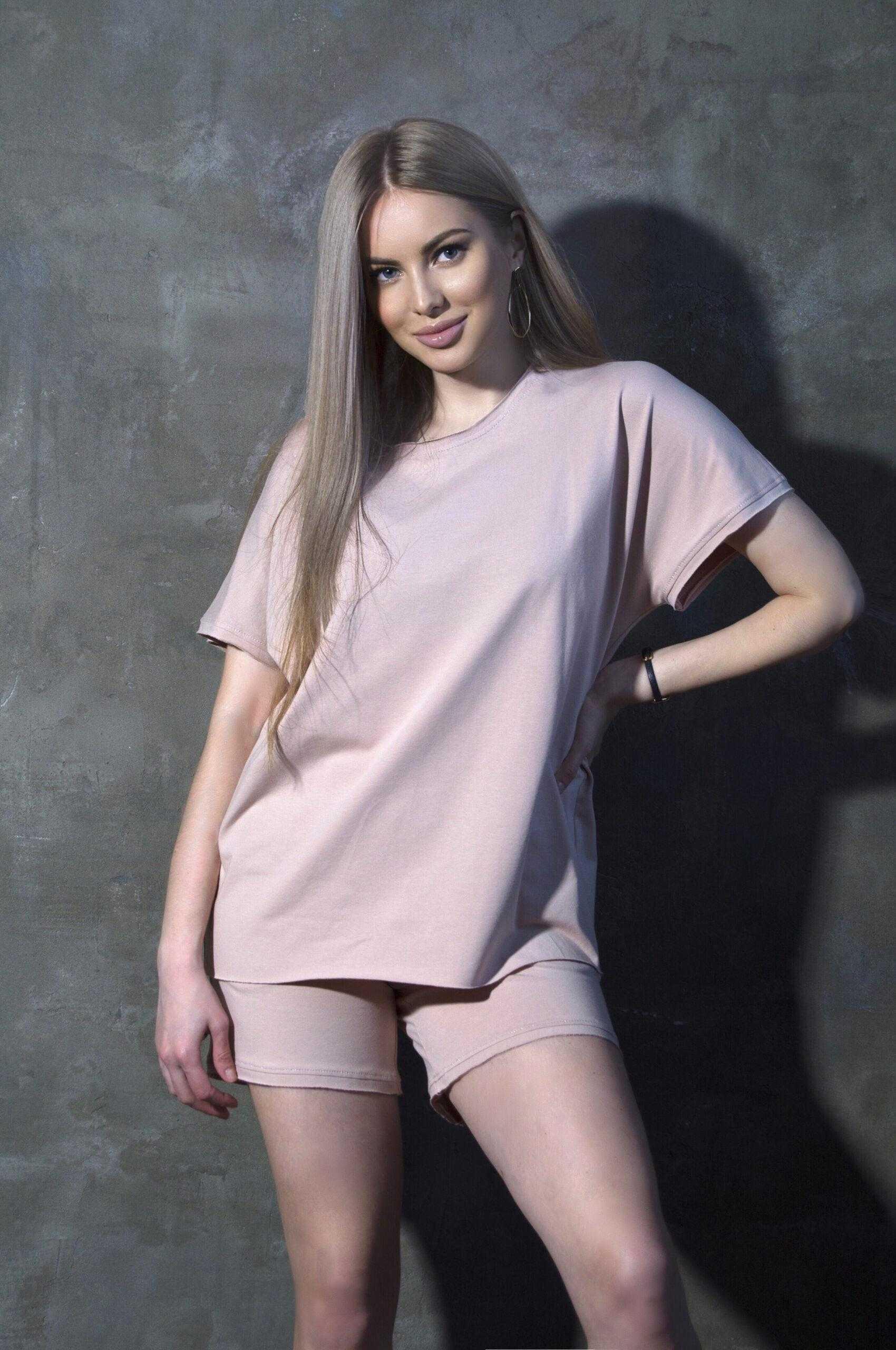 костюм с шортами женский летний