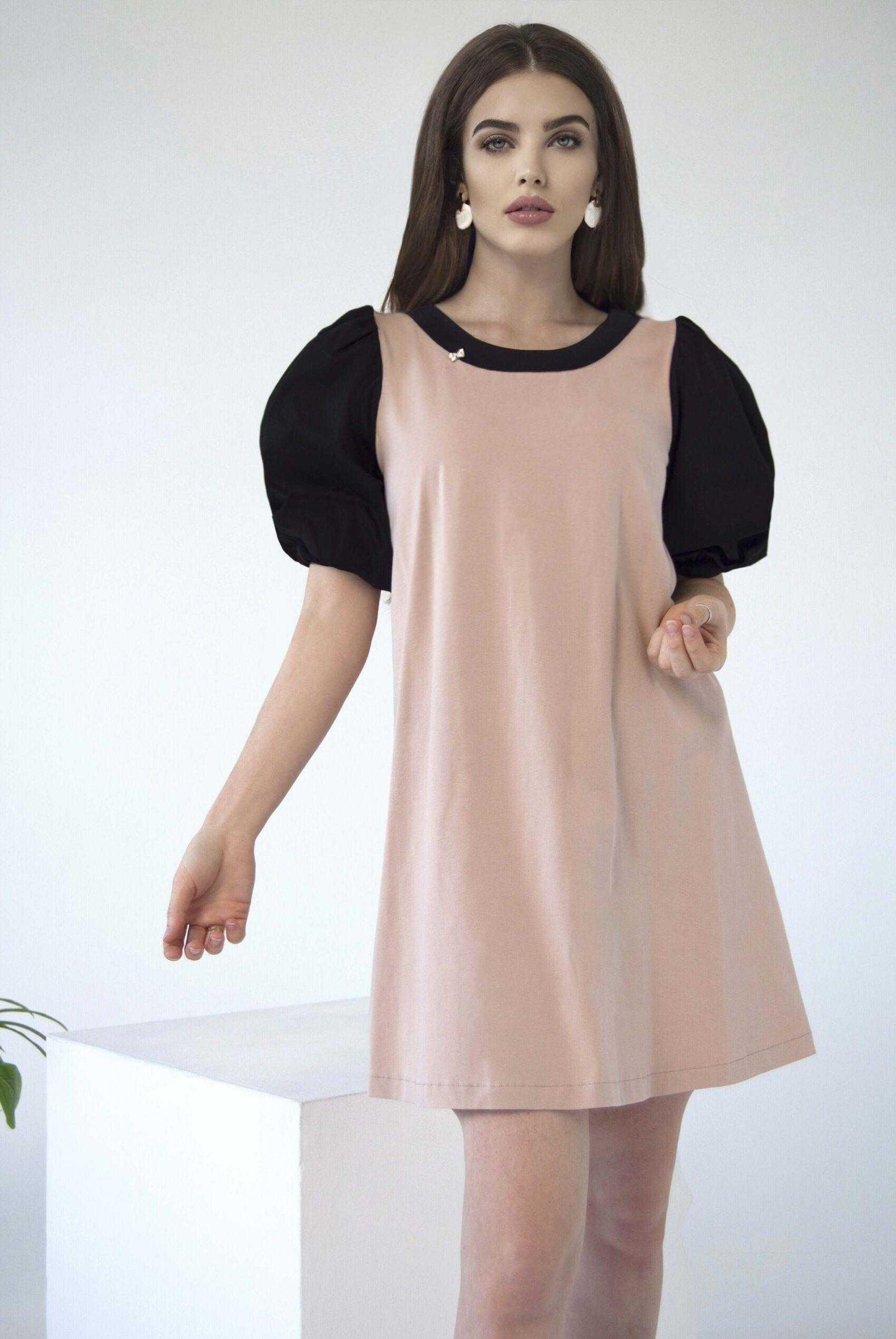 платья из трикотажа