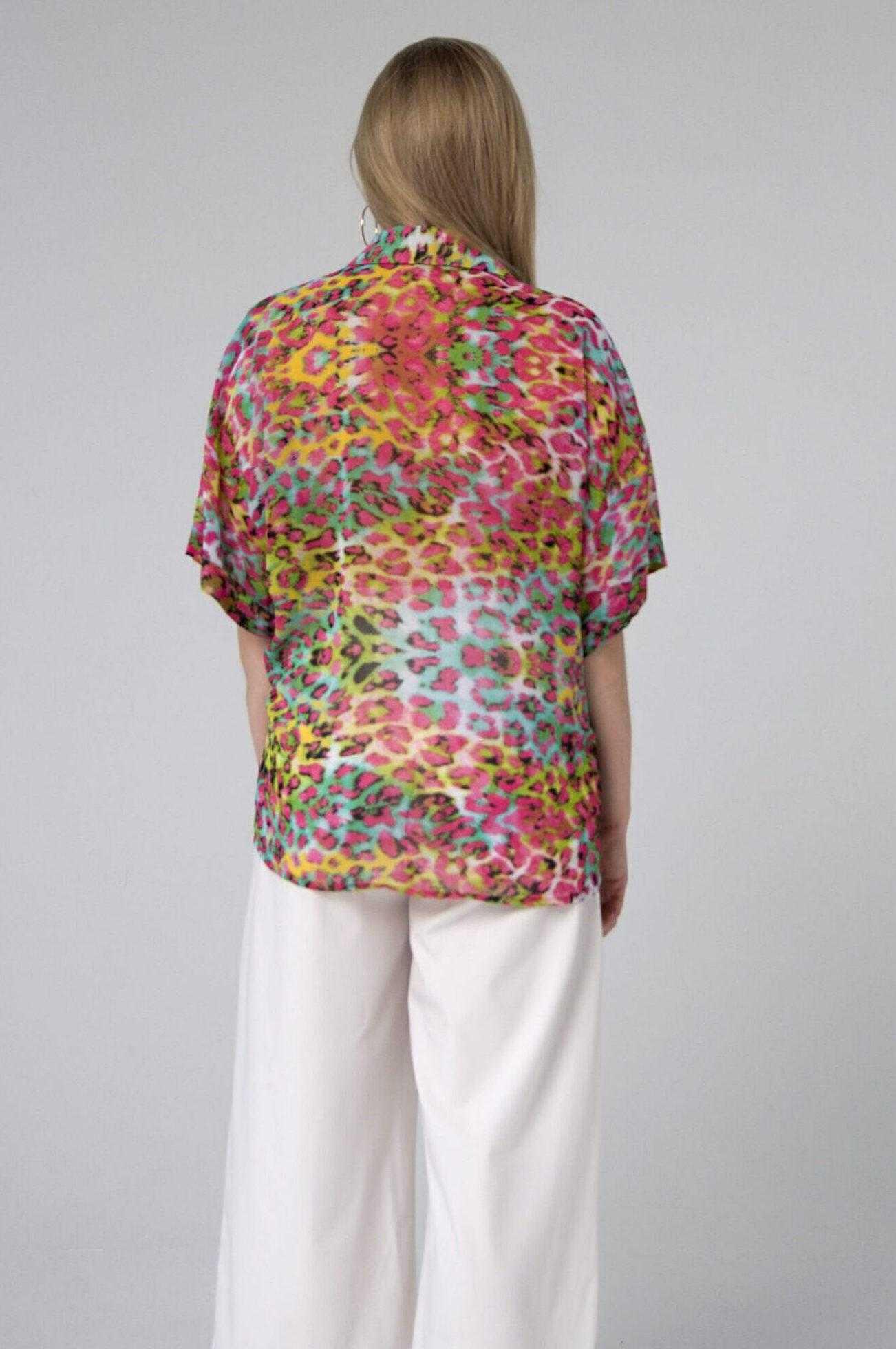 купить яркую рубашку женскую