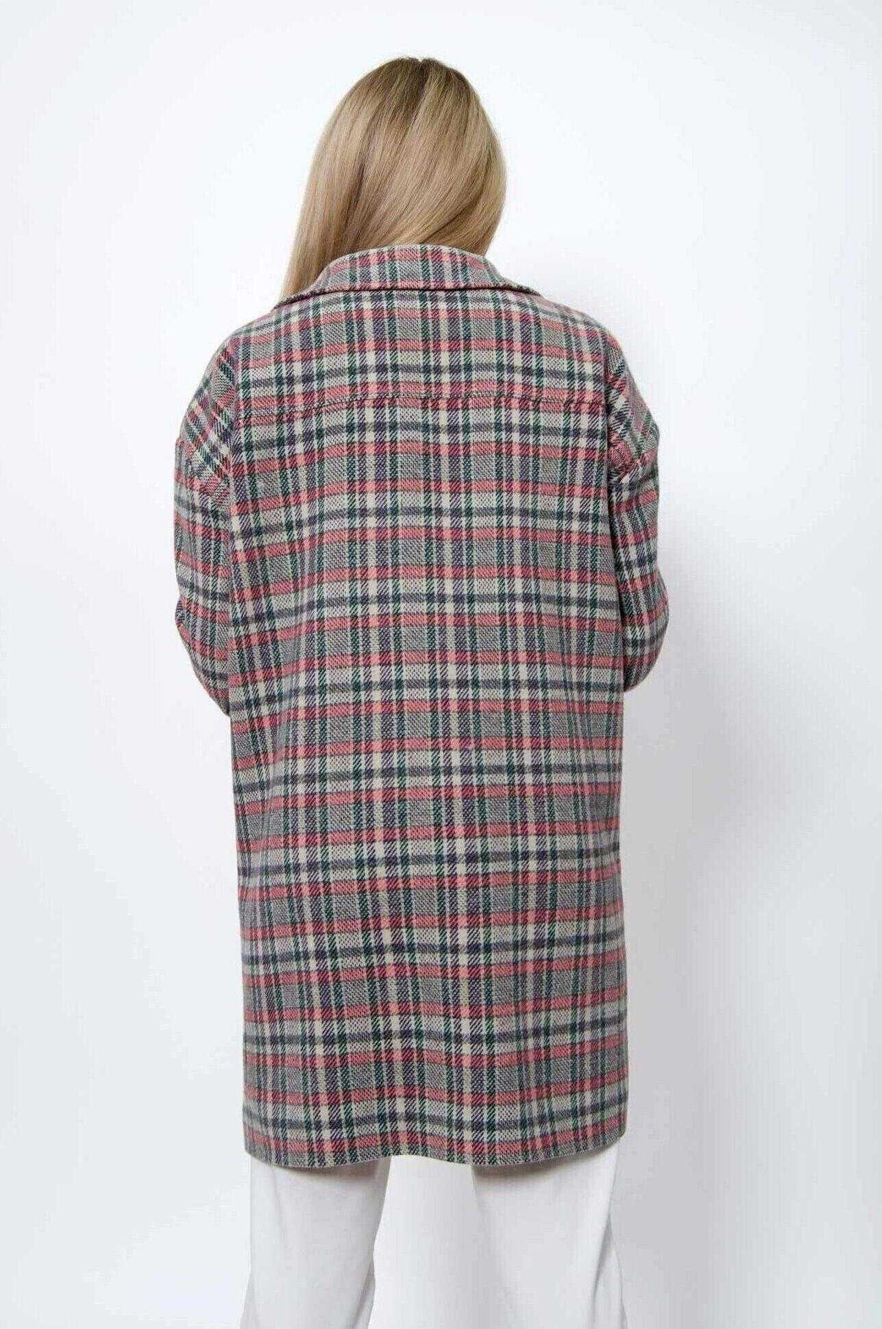 Осенняя рубашка женская